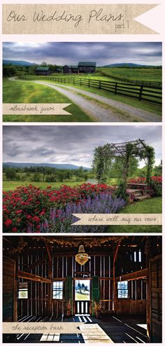 The AMAZINGLY BEAUTIFUL Silverbrook Farms, the wedding venue!