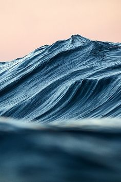 Creased Sea by Warren Keelan