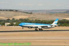 A340 de Aerolineas Argentinas