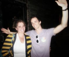 My twin sister and Brian Holden at the House of Blues in Orlando after the SPACE Tour show. November 16, 2011