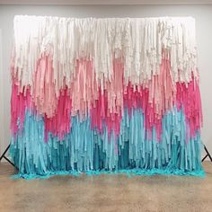 Planning a baby shower? 👶🏼 Our piñata walls can be fully customised. Choose your size and colours, and we'll deliver! Disclaimer: We specialise in the delivery of backdrops. Baby delivery not included. Party Co, Diy Party, Party Time, Paper Backdrop, Diy Backdrop, Tissue Paper Garlands, Gender Reveal Party Decorations, Birthday Party Decorations, Mexico Party