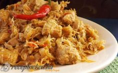 Toroskáposzta recept fotóval Fried Rice, Grains, Food And Drink, Chicken, Cooking, Ethnic Recipes, Chinese, Red Peppers, Kitchen