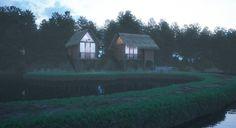 Foggy Lake House