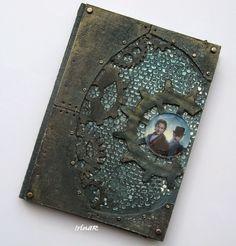 Steampunk notebook