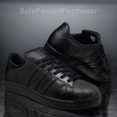 b1dcd8017253 adidas Originals Mens Superstar Trainers Black Size 11 Foundation SNEAKERS  EU 46 for sale online