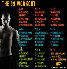 Wow. Felt like insanity first workout sick while doing this!  totally sore two days later and forced myself to do it again!