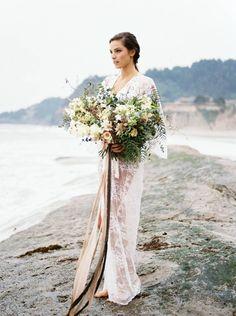 Stunning beach boudoir shoot from Oregon via Magnolia Rouge