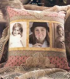 Neat idea!  A memory pillow.