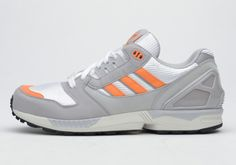 adidas ZX 8000 – Grey – Orange