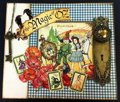 Okienurse's Paper and Ink Therapy: The Wizard of Oz book and WOYWW 153! Description from okienurse.blogspot.co.uk. I searched for this on bing.com/images
