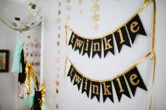 Twinkle Twinkle Little Star Party Decor - Project Nursery
