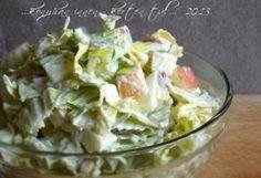 Almás-majonézes kínai kel saláta