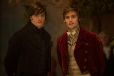 """Sam Riley and Douglas Booth are also in """"Pride and Prejudice and Zombies."""""""