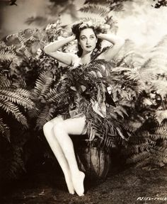 """I don't want to be glamorous. I'm too down-to-earth and practical for that."" -- Dorothy Lamour. Source: Whitney Williams (1937) Bizarre Los Angeles"