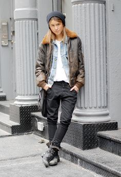 androgynous style - Google Search