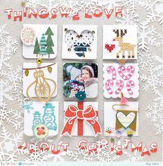 Bea Valint: Things we love about Christmas / Paige Evans + Silhouette DT