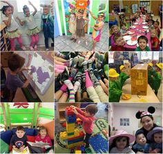 Check out all the fun we had at Creative World last month!