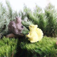 Mini Random Animal  Garden Ornament Miniature Flower Plant Fairy DIY Dollhouse