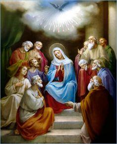III Mysteria gloriosa - Descensus Spiritus Sancti / III Tajemnica chwalebna - Zesłanie Ducha Świętego