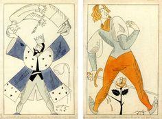Giuseppe Fanciulli, Il Castello delle carte. Novelline bizzarre, Florence, Bemporad, 1914. Illustrations de Sto