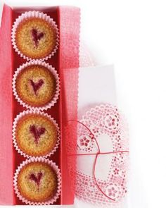 Raspberry-Almond Financiers Recipe