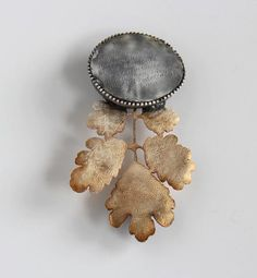 "Melitina Balabin  LETTERS FROM THE ISLAND, brooch, 2012 silver, patina, 100 x 55 mm  From the ""Letters From The Island"" Series    http://melitina.balabin.net/"