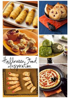 Room to Inspire: Spooky Food Ideas ~