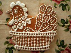 Cookie Designs, Gingerbread Cookies, Art Pieces, Food And Drink, Easter, Baking, Wafer Cookies, Sweet Treats, Ginger Cookies