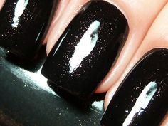 Hot alternative to plain black. Can't go wrong with a little sparkle!
