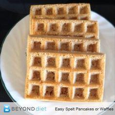 Easy Spelt Pancakes
