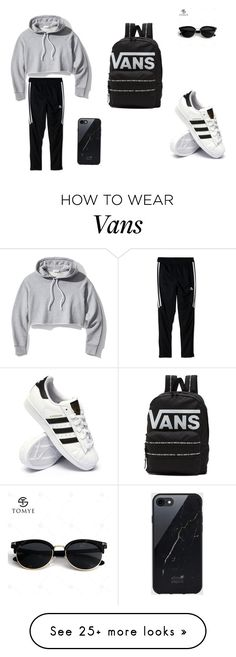 """""""Untitled #1"""" by asdla on Polyvore featuring Frame, adidas, Vans and Sefton"""