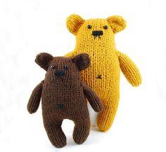 Danger bears! By Twiddle knits. http://www.etsy.com/shop/dangercrafts
