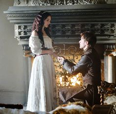 Cute Renissance proposal pic; I don't know if this is from a show, or movie, but hey, it's cute.