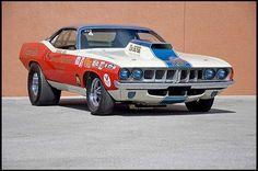 1971 Plymouth Hemi Cuda Pro Stock Sox & Martin, 426 CI, 4-Speed