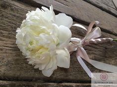 White Peony Wand, Flower Girl, Somerset Rustic Wedding - Flowers by Flowers of the Hesperides August Wedding, Summer Wedding, Flower Girl Wand, Rustic Wedding Flowers, May Weddings, Flowers For You, White Peonies, Peony Flower, Ditsy Floral