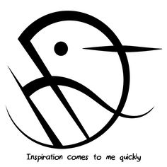 """Inspiration comes to me quickly"" sigil requested by anonymous Sigil requests…"
