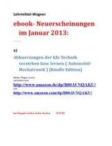 Neues zur Didacta 2013: Bereich eBook-Neuerscheinungen Jahr 2013: Nachschlagewerke Mechatronik von Lehrmittel-Wagner
