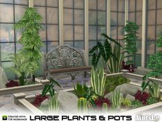 Ever wanted an indoor garden for your sims? Now you can create one! You can also use the plants in a variety of pottery. With the keys [ and ] you make the plants and pottery larger and smaller....