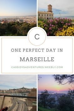 How to spend one perfect day in Marseille, France - what to do, where to go, and what to eat and see - expert tips and travel advice