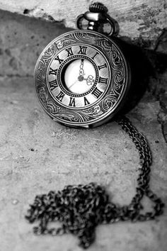 Atticus Finch's Old Pocket watch is symbolic of the Finch's Southern history. It also symbolizes Jem's maturity and coming of age when Atticus gives him the watch. Old Clocks, Antique Clocks, Old Pocket Watches, Father Time, Time Tattoos, Black N White, Vintage Watches, Black And White Photography, Mens Fashion