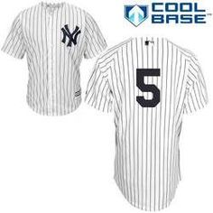 Joe DiMaggio No Name Jersey - Number Only Replica by Majestic
