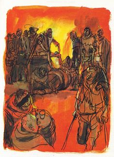 Georges Beuville's Illustrations for Notre Dame de Paris Illustration Française, Commercial Art, Illustrations And Posters, Notre Dame, Tumblr, Comics, Drawings, Painting, Inspiration