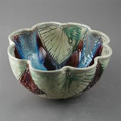Innovations for Interior Designs with Ceramics Pottery Bowls, Ceramic Pottery, Pottery Art, Pottery Ideas, Porcelain Ceramics, Ceramic Bowls, Ceramic Art, Glazing Techniques, How To Make Clay