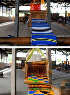 Kente weaving in Ghana