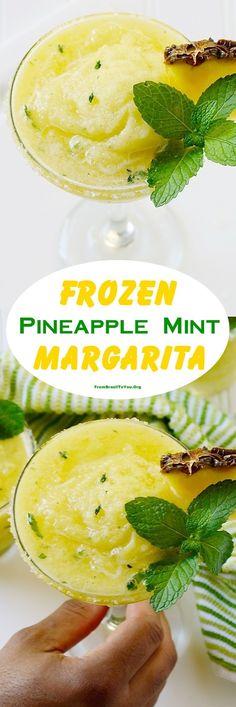 frozen-pineapple-mint-margarita