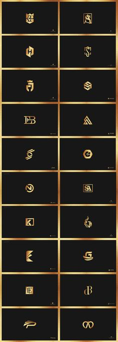 Creation of logos with use of monograms between 2015 and 2018 by design studio Ivancco. Logo for lawyers, architects, engineers. Monogram logos, black and gold foil. Dna Logo, Typography Logo, Typography Design, Branding Design, Luxury Logo Design, Modern Logo Design, Corporate Branding, Logo Branding, Blog Logo