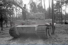 Tiger Ausf. E torony száma 211, s.Pz. Abbot.  502