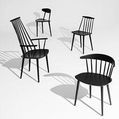 Il J107 Chair, HAY, funzionalista e democratico, confort e design nordico