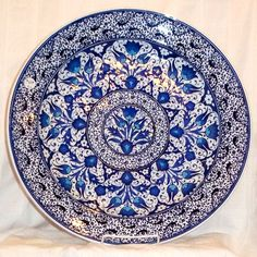 One day, I'll have a whole set of Tunisian or Turkish plates