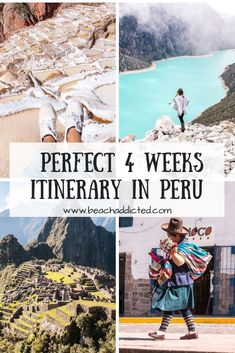 Perfect 4 weeks Peru itinerary with our highlights which are worth to visit. Perfect 4 weeks itinerary in Peru with our highlights. Source by DianasLiving Bolivia, Brazil Travel, Peru Travel, Uganda Travel, Argentina Travel, Hawaii Travel, Italy Travel, South America Destinations, South America Travel